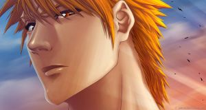 Ichigo close up by Juhani