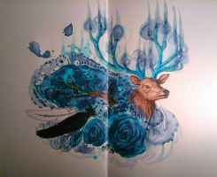 Moleskine - Blue Freedom  by Aneveraas