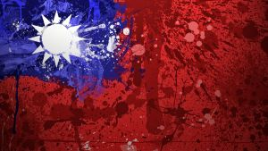 Taiwanese Flag Wallpaper by GaryckArntzen