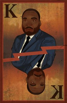 Martin Luther King, Jr. WIP by La-Bamba