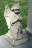 Mount Olivet Cemetery Angel 39 by Falln-Stock