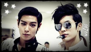 Se7en and T.O.P Wallpaper by xTHExFUNNNX