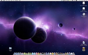 Spacey desktop by smile-lover