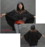 Woodsman's capelet by FrockTarts