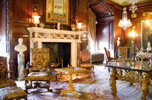 Warwick Castle Interior by Cynnalia-Stock