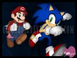 AT: Mario and Sonic in the Subspace Emissary Realm by CCgonzo12