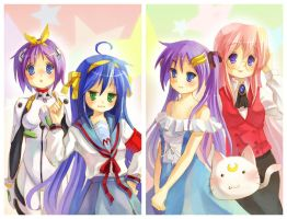 Lucky Star by X-Chan-