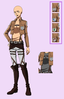 BASE 70 - Attack on Titan uniform - olderfemalever by Rainfall-Bases
