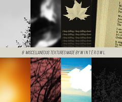 8 miscellaneous textures | Winterowl by ComealongPondss