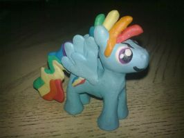 Rainbow Blitz Figurine by Plucsle