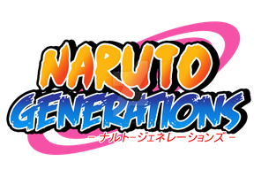 Naruto Generations Logo by dreamchaser21