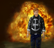 Cool guys don't look at explosions )) by DariaPandora