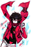 MEKAKUCITY ACTORS  shintaro by ROYHACK
