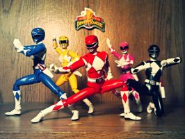 ULTIMATEfiguarts - MMPR OG 5 by ULTIMATEbudokai3
