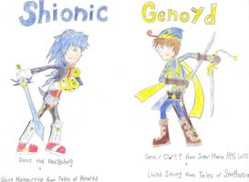 Genoyd vs Shionic by MagGamTales