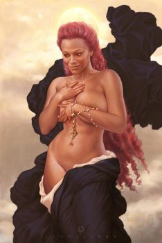 Goddess Asma by LeoNeal-CP