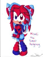 Request: Misaki the Hedgehog by Lilymint7