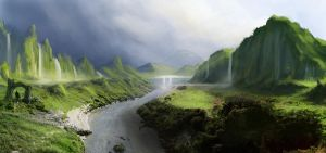 Matte Painting Practice 2 by jordangrimmer