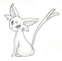 Espeon by limeyemil