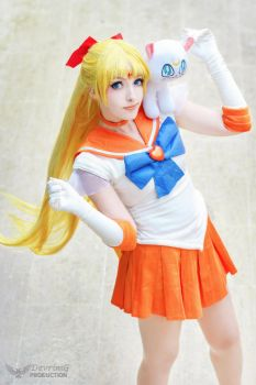 Sailor Venus by DEATHNOTE---L