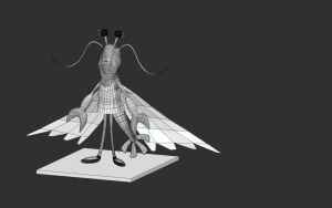 Lucy Wireframe Render by itshappybunny1234