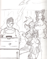 Grill Trouble by SirPreacher