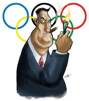 Olympic Douchebag by opteryx