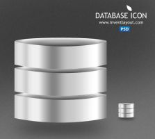 Database Icon PSD by atifarshad