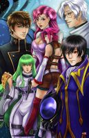 Code Geass by TyrineCarver
