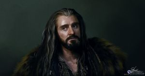 Thorin Oakenshield by noctemus