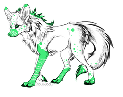 Liquid Canine Adoptable-(CLOSED) by Amabyllis