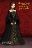Catherine of Aragon, Version 2 of the Court Gown by daretoswim7709