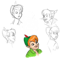 Peter Sketches by Scribbles02
