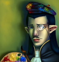 The French Vampire Artist by AuldBlue