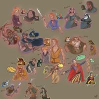 characters from Redwall are humen 2 by WinstonOffbeat1