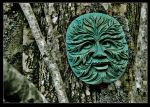 the green man of Skye by Demonoftheheavens