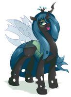 Queen Chrysalis by Xeella