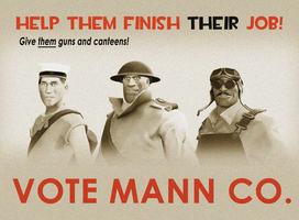 Vote Mann Co. by PrincessBloodyMary