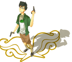 Jake english - homestuck by LaWeyD