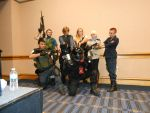 Metrocon 2014: Resident evil by SapphireAngelBunny
