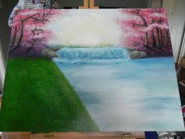 Romantic paradise~ (In progress/not finished) by Landaart