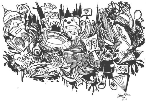 Illustration for My Artwork 99 Designs by TheDibsDibs