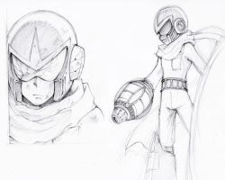 Sketch : Blues Gigamix by whitmoon