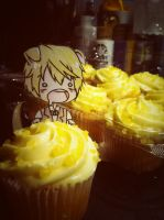 Shizuwan and cupcakes by MistressOfPineapples