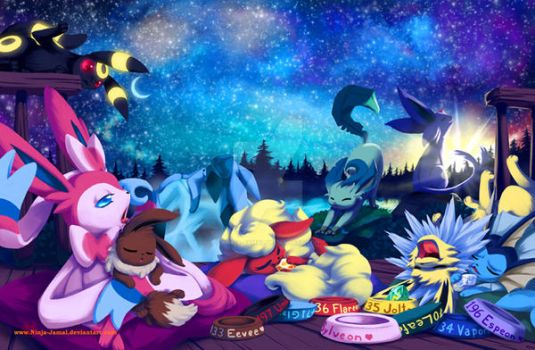 Dream of Eeveelution by Ninja-Jamal