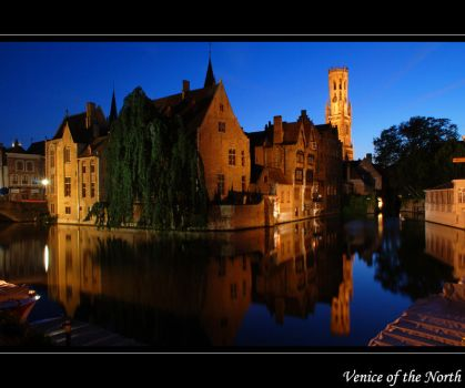 Brugge - Venice of the North by lux69aeterna