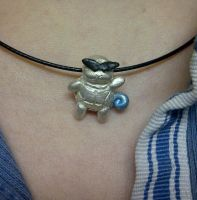 Squirtle Squad Silver Charm by nemuineko85