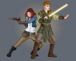 The Smuggler and the Consular by eclecticmuse