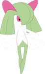 ~Pokebase~ Kirlia by YukiMemories