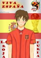 Spain - World Cup 2010 by stellinaa